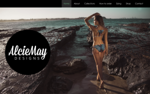 AlcieMay Designs website by 360 Results